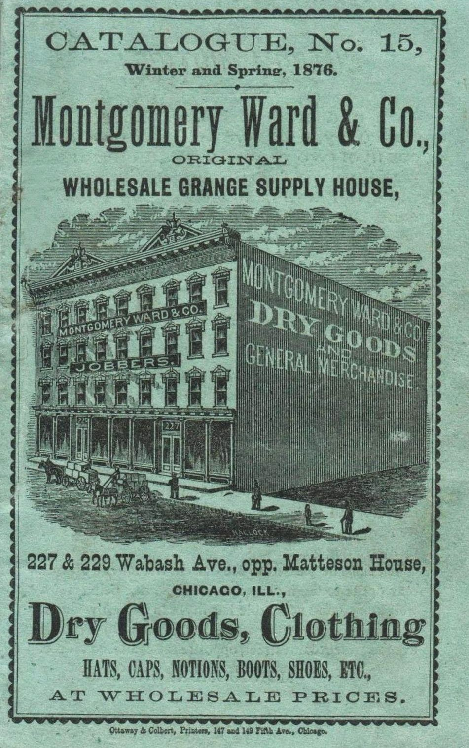 Montgomery Ward & Co. Catalogue
