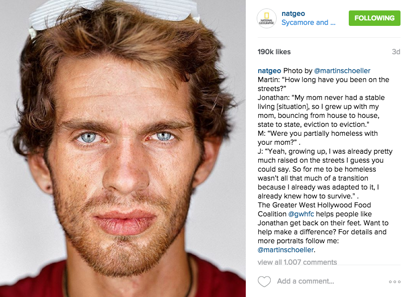 Nat Geo is a good example of an effective inbound marketing instagram.
