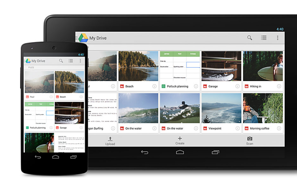 GoogleDrive-Screenshot