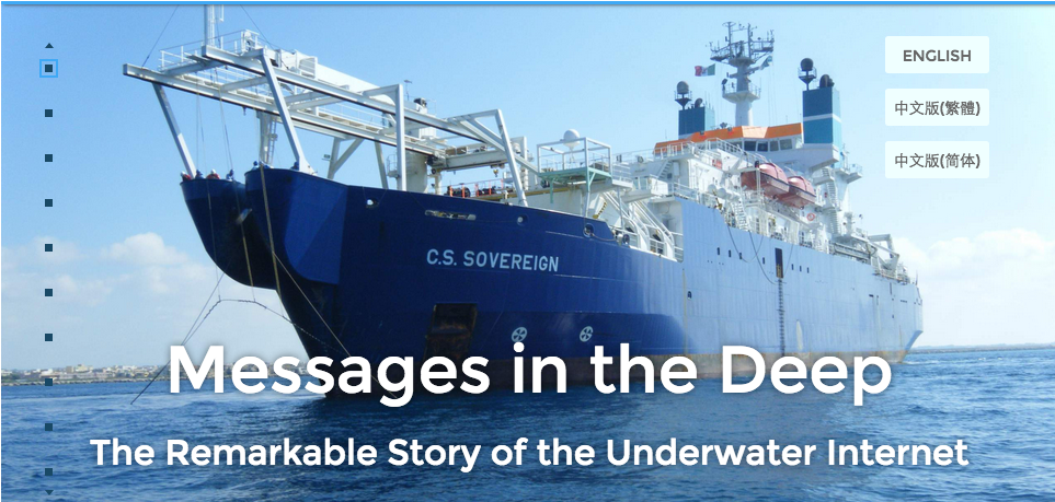 Messages in the Deep is a great example of long-form content that works.