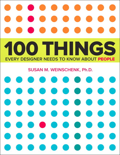 100 Things Every Designer Needs To Know About People, cover