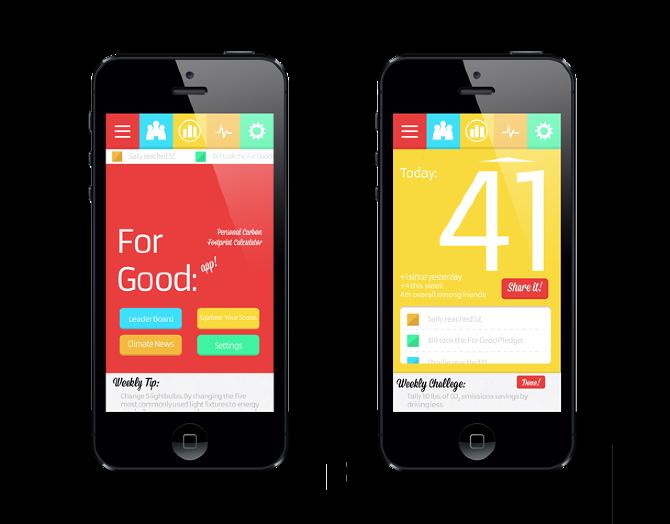 Good app mockups