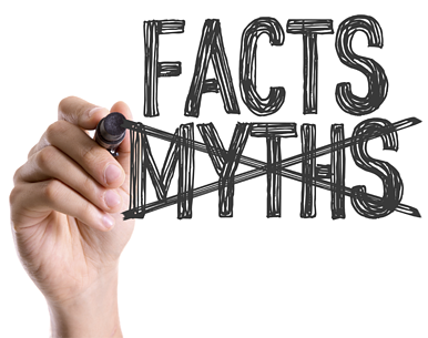 Share the facts; don't pander to myths.