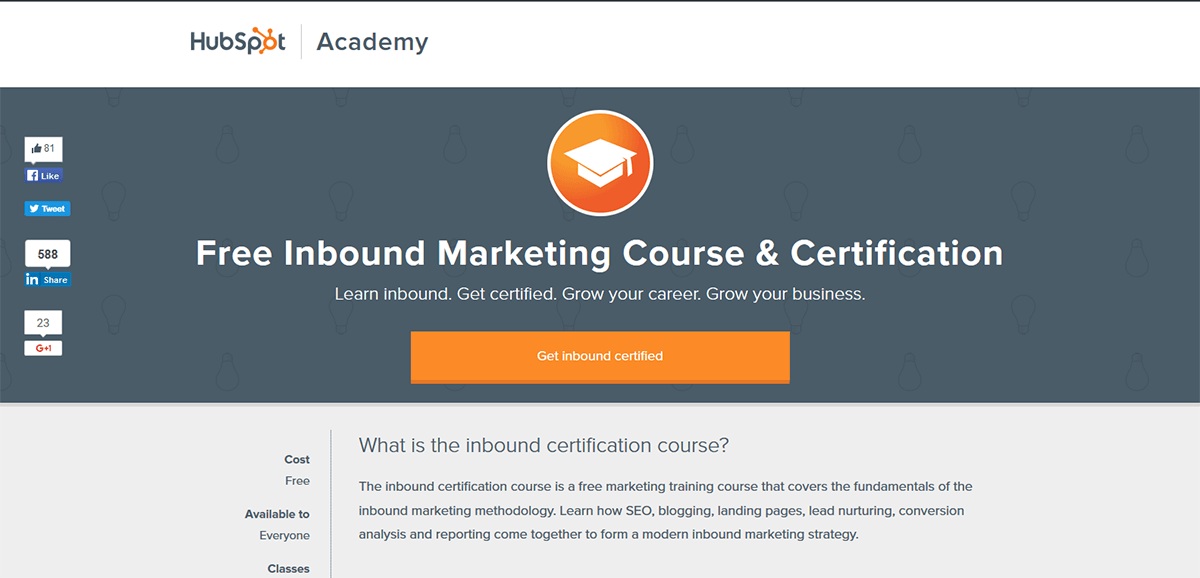 Hubspot Certification Why You Should Get Inbound Certified