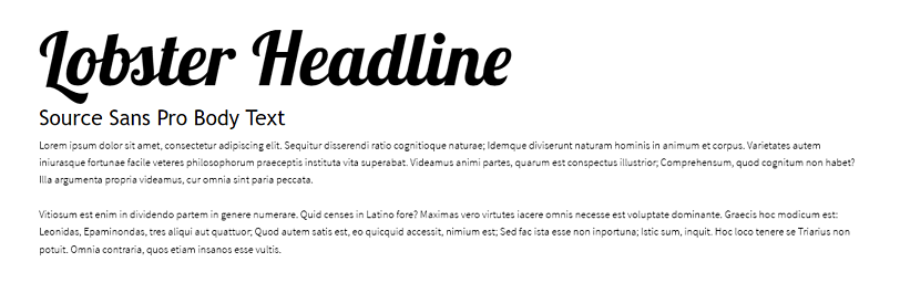 The Best Google Web Fonts: A Designer's Perspective