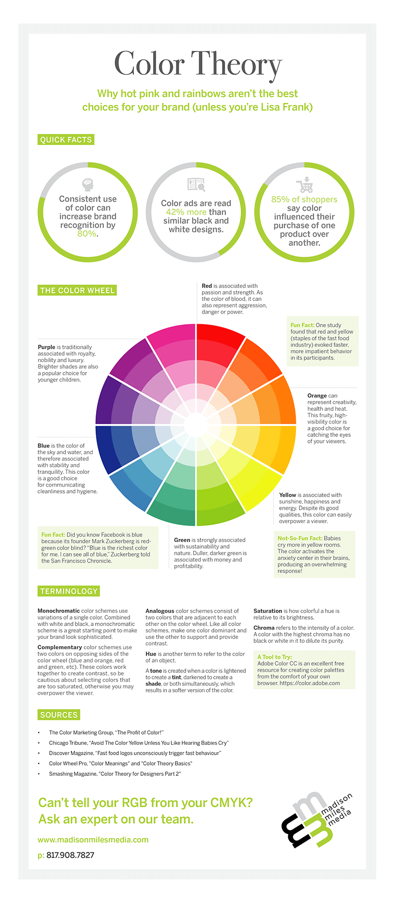 Understanding Color Theory Infographic