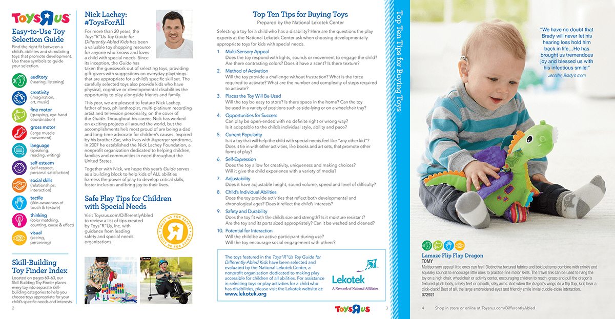 Toys R Us 2015 Differently Abled Guide