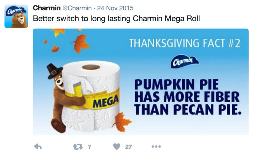 Charmin Tweet Example 2