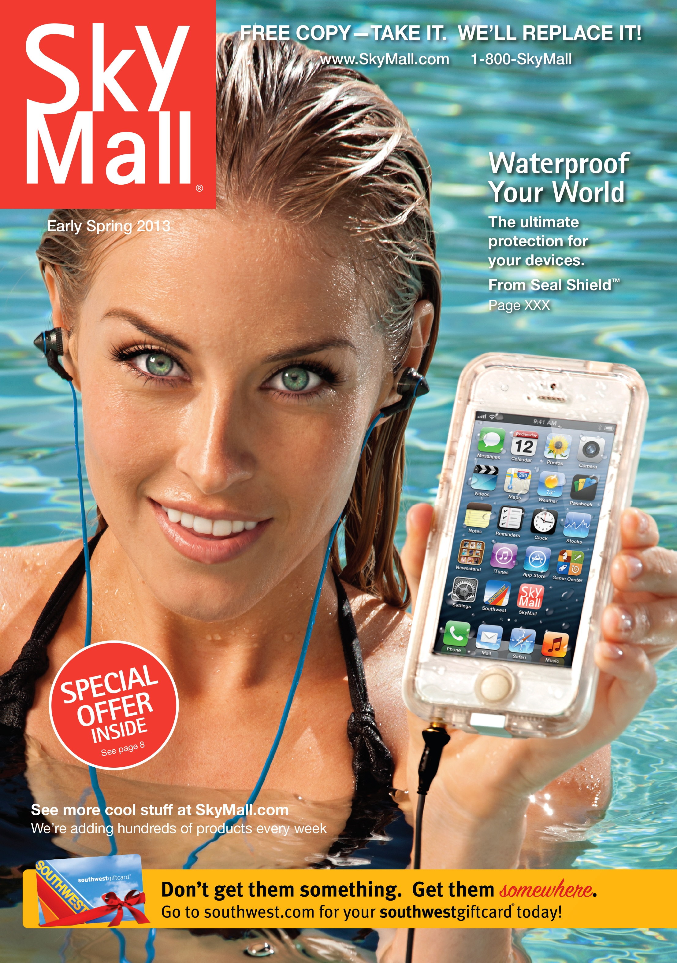 SkyMall catalogue