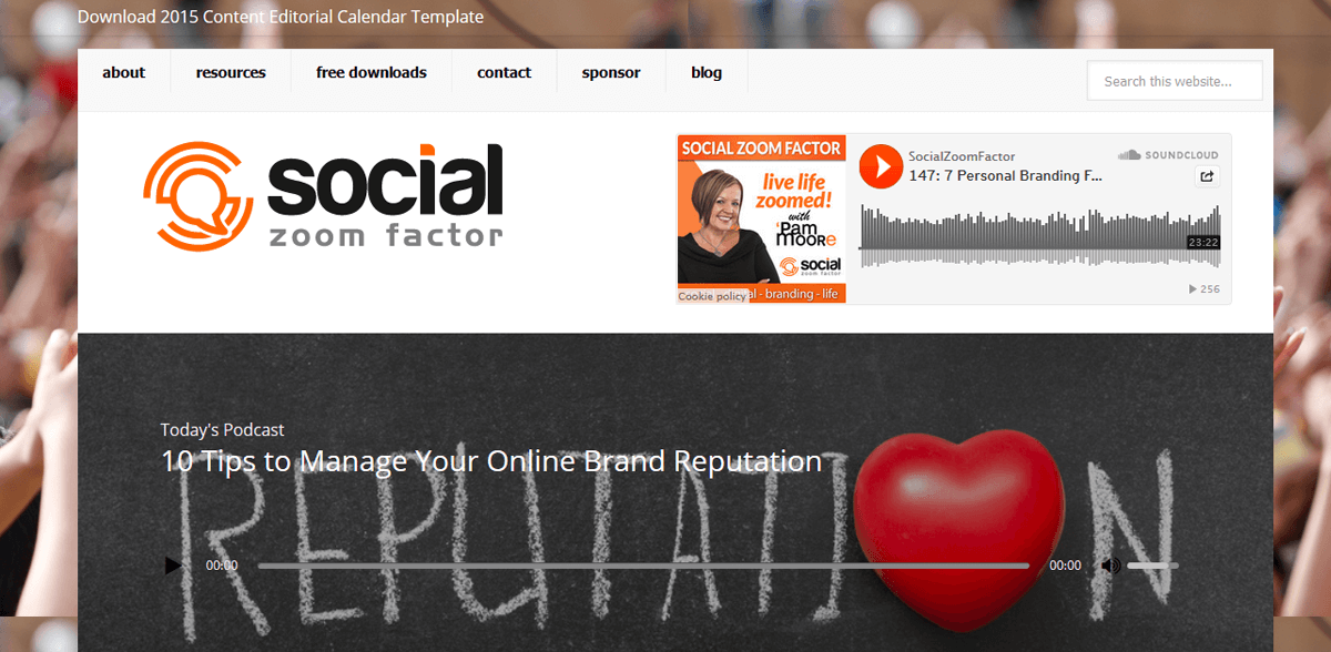 Social Zoom Factor with Pam Moore